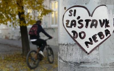 Valentínsky streetart z Košíc, alebo kreatívne srdiečka dobývajú metropolu východu