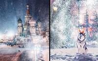 Vánoční Moskva vypadá jako z čarokrásné pohádky. Její jedinečnou atmosféru nenajdete jen tak někde