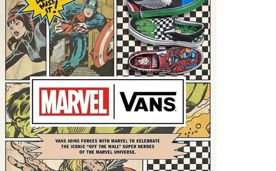 Vans a Marvel spojili sily na kolekcii tenisiek a oblečenia inšpirovaných ich najslávenjšími superhrdinami