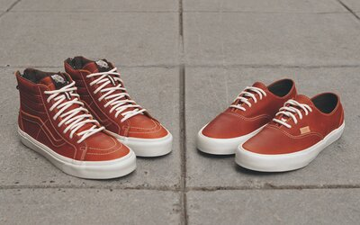 Vans California a Henna Boot Leather pack