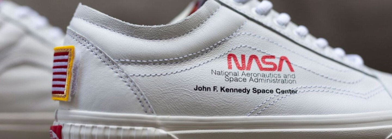 Vans spojilo sily s NASA, vytvorili exkluzívne tenisky inšpirované skafandrom
