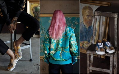 Vans x Vincent van Gogh? Na exkluzívnej kolaborácii inšpirovanej obrazmi holandského maliara sa podieľa aj jeho múzeum