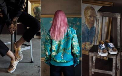 Vans x Vincent van Gogh? Na exkluzivní kolaboraci inspirované obrazy holandského malíře se podílí i jeho muzeum