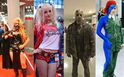 Várka nejvíce sexy a nejkreativnějších cosplayerů z newyorského Comic-Conu