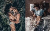 Vášeň a zaľúbenci vo vode predstavujú dokonalú kombináciu. Španielsky fotograf zachytáva splynutie živlov