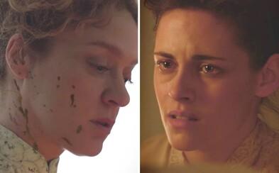 Vášnivý vzťah medzi Kristen Stewart a slobodnou ženou vygraduje v historickom thrilleri do šialeného vražedného plánu