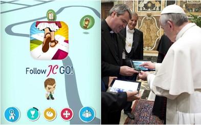 Vatikán vydal vlastní verzi Pokémon Go. Namísto příšerek chytáš světce