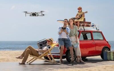 Váži ako jablko a vojde sa do vrecka. I tak s dronom DJI Mini 2 vytvorí profi záznam aj úplný začiatočník