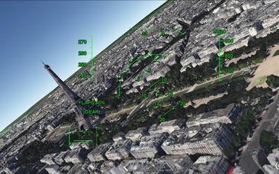 Vďaka leteckému simulátoru od Google Earth môžete preletieť nad reálnymi lokalitami a spoznať ich z vtáčej perspektívy