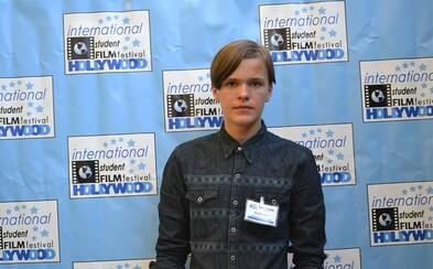 Ve čtrnácti letech vyhrál cenu v Hollywoodu a po základní škole se chystá na filmovou střední do Kalifornie (Rozhovor)