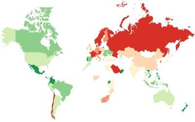 Ve kterých zemích se nejjednodušeji budují přátelství? Česká republika a Slovensko mezi ně nepatří