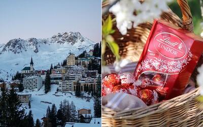 Ve švýcarském městě padal čokoládový sníh. Ve fabrice Lindt se pokazila ventilace