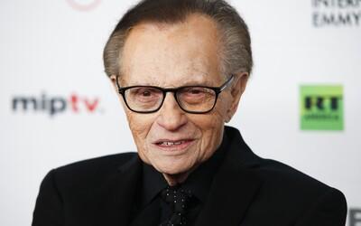 Ve věku 87 let zemřel legendární americký moderátor Larry King