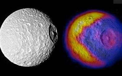 Vedci objavili Hviezdu smrti a na nej zároveň aj Pac-Mana. Saturnov mesiac pobavil mnohých ľudí