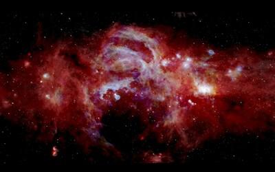 Vědci objevili obrovskou neznámou strukturu ve skrytých zákoutích vesmíru