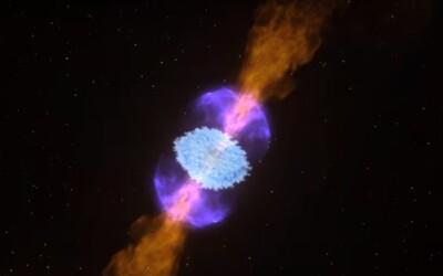 Vedci po prvý raz pozorovali zrážku neutrónových hviezd. Vytvorila 10-krát viac zlata, ako je na Zemi