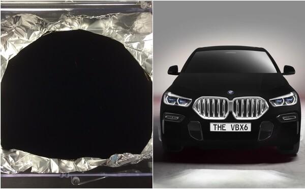 Vědci vytvořili nejčernější barvu světa. Světlo pohlcuje ještě více než nové BMW X6 Vantablack