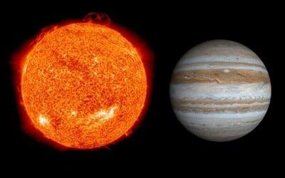 Vědci zjistili, že  Jupiter neobíhá kolem Slunce. Obě tělesa mají totiž společný úplně jiný bod