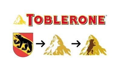 Věděl jsi, jaké skryté významy obsahují loga známých světových společností? Toblerone má v tom svém rovnou medvěda