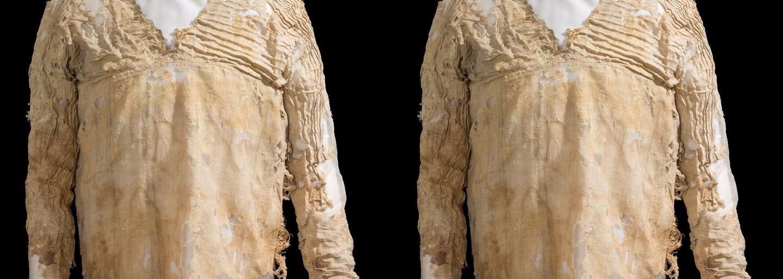 Vek asi 5000 rokov a pôvod v Egypte. Najstarší odev na svete sa nosil ešte za 1. egyptskej dynastie