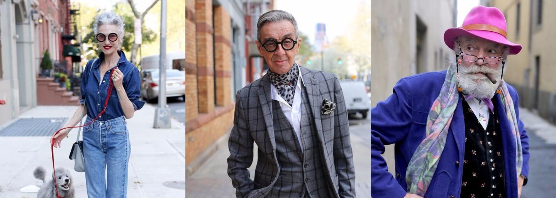 Vek módny štýl neobmedzuje. Dokážu ti to seniori s vycibreným vkusom a záľubou v móde