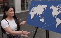 Veľa Američanov nevie pomenovať ani jedinú krajinu na mape sveta. Jimmy Kimmel opäť otestoval geografické znalosti ľudí
