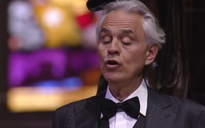 Velikonoční koncert Andrea Bocelliho pro Italy zasažené koronavirem překonal rekord YouTube. Vidělo ho už 35 milionů lidí