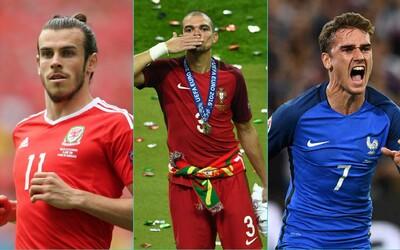 Veľké hviezdy, ale aj prekvapenia. Vybrali sme najlepšiu jedenástku EURO 2016