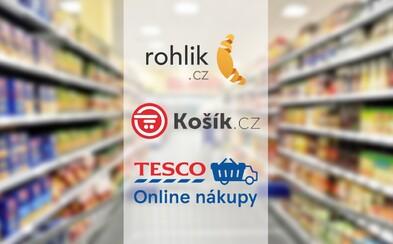 Velké srovnání českých online supermarketů: U koho se vyplatí nakupovat, jak řeší problémy s nákupem a kde mají největší výběr potravin?