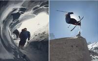 Velkolepá jízda na ledovci ve francouzských Alpách je dokonalou ukázkou adrenalinového lyžování
