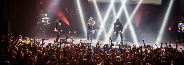 Velkolepá RAPMASTERS Tour završila své působení v brněnském SONO Centru (Fotoreport)