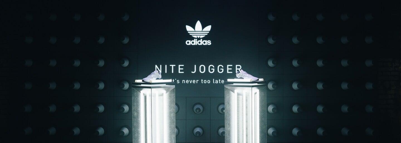 Veľkolepé uvítanie tenisiek Nite Jogger od adidas sprevádzali Renne Dang aj Sharlota (Fotoreport)
