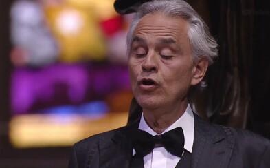 Veľkonočný koncert Andrea Bocelliho pre Talianov zasiahnutých koronavírusom zlomil rekord YouTube. Videlo ho už 35 miliónov ľudí