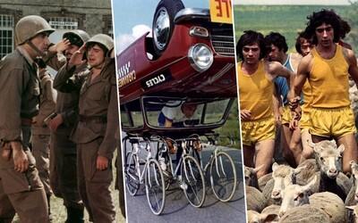 Velký Bazar či Bažanti aneb nostalgické francouzské komedie plné gagů, lásky a bláznivého humoru
