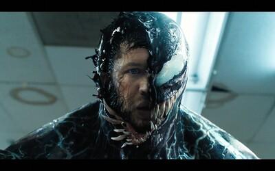 Venom je nefungující bordel bez logiky. V kině se ale pobavíte, Tom Hardy je výborný (Recenze)