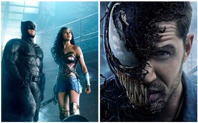 Venom už po vyše mesiaci prekonal tržby Justice League. Len v Číne zarobil Tom Hardy za prvé tri dni vyše 100 miliónov dolárov