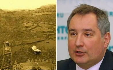 Venuše je ruská planeta, prohlásil šéf ruské kosmické agentury na konferenci