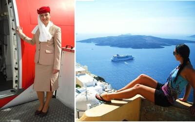 Veronika a její dubajský sen: U práce letušky je úžasné, že cokoliv si usmyslíte, to můžete mít (Rozhovor)