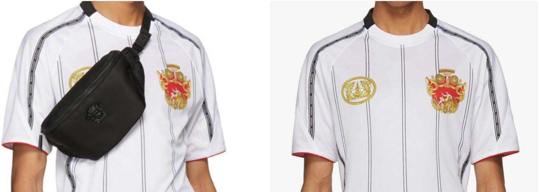 Versace ponúka vlastný futbalový dres za viac ako 570 €