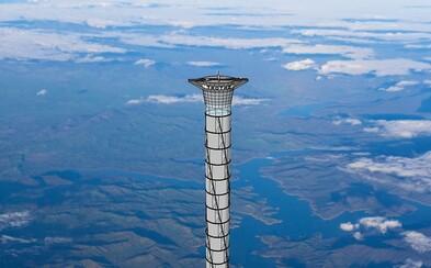 Vesmírná společnost si patentovala výtah vedoucí až do stratosféry. Přichází revoluce v cestování do kosmu?