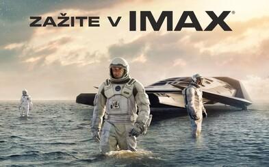 Vesmírnu epochu Interstellar od Nolana si budeme môcť vychutnať v IMAX-e už vo štvrtok!
