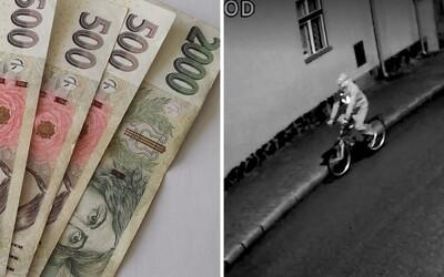 Vezla si v Praze na koloběžce 400 tisíc. Ukradl jí je kolemjedoucí cyklista