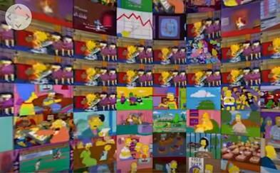 Viac než 500 epizód Simpsonovcov naraz a v jednom 360-stupňovom videu? Ak chceš zažiť mučenie, môžeš si to vyskúšať aj sám