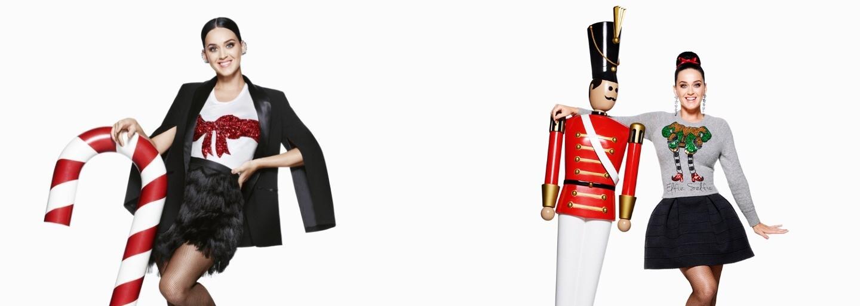 Vianocami v H&M ťa bude sprevádzať Katy Perry, ktorá je novou tvárou kampane švédskeho reťazca