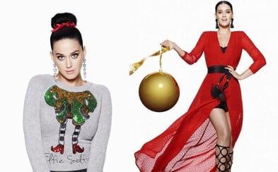 Vánocemi v H&M tě bude provázet Katy Perry. Ta je novou tváří kampaně švédského řetězce