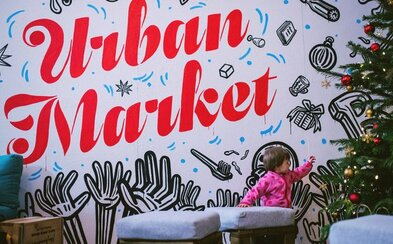 Vianoce s Urban Marketom budú tento rok opäť veľkolepé. Pripravte sa na množstvo predajcov a nadupaný sprievodný program