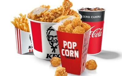 Vianoce v KFC? Vychutnáš si ich so Santa Bucket s Popcorn Kura zdarma
