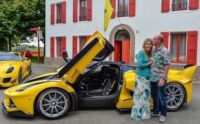 Viceprezident Googlu kúpil manželke 1050-koňovú okruhovú stíhačku za 2,5 milióna €