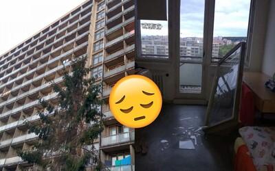 Víchrica na intrákoch v Bratislave vyrazila chatrné okno. Orkán Fabienne neobišiel ani Mlynskú dolinu plnú študentov