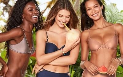Victoria's Secret vyvracia staré názory: Nová plavková kampaň obsahuje aj plus-size modelky